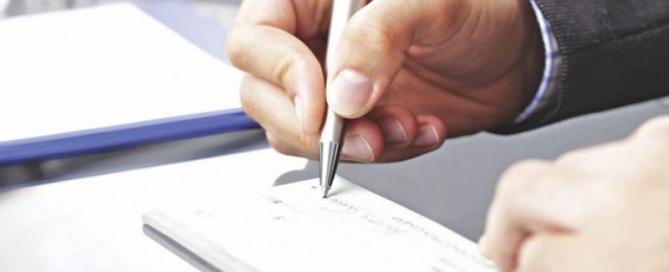 سوء استفاده از چک سفید امضاء