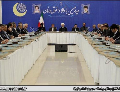 عدم پذیرش دعوت افطار رئیسجمهور توسط رئیس کانون وکلای همدان